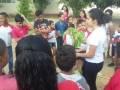 Atividade de Arborização no dia 21/09, na Escola Municipal Carlos da Costa Silva, em Juazeiro.