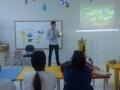Atividade de Ambientalização no dia 14.09 da EMEI Gentil Damásio do Nascimento, em Juazeiro.