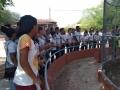 Visita técnica ao parque zoobotânico, no dia (12/12), com os alunos da Escola Poeta Carlos Drumond de Andrade.