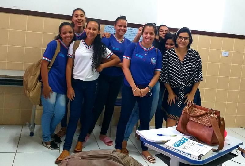 Atividade Mobilização Ambiental. Escola Estadual do Campo de Ibipitanga. Ibipitanga-BA. 09/2019.