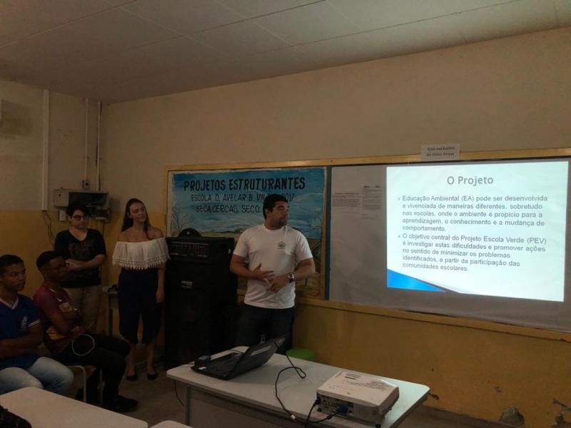 Atividades sobre Energias Renováveis. Escola Dom Avelar. Juazeiro-BA. 15/03/2019.