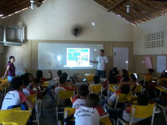 Atividade sobre Recursos Hídricos. Escola Edualdina Damásio. Juazeiro-BA. 22-04-2016.