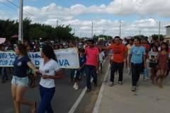 Escola mobilizada pelo PEV realiza passeata pelo bairro