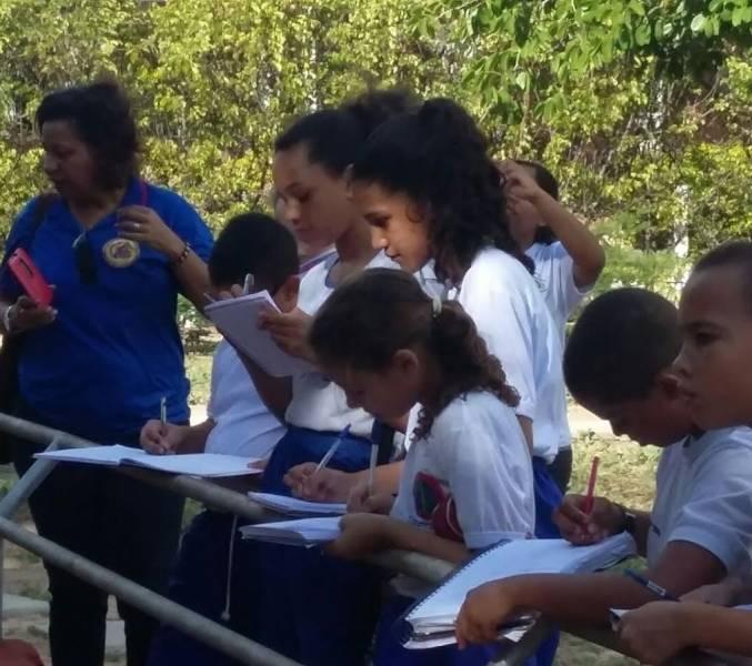 Visita Técnica ao Parque Zoobotânico. Colégio da Polícia Militar (CPM). Juazeiro-BA. 03/04/2017.