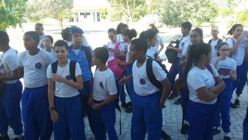 Visita Técnica ao Cemafauna. Colégio da Polícia Militar (CPM). Juazeiro-BA. 22/03/2017.