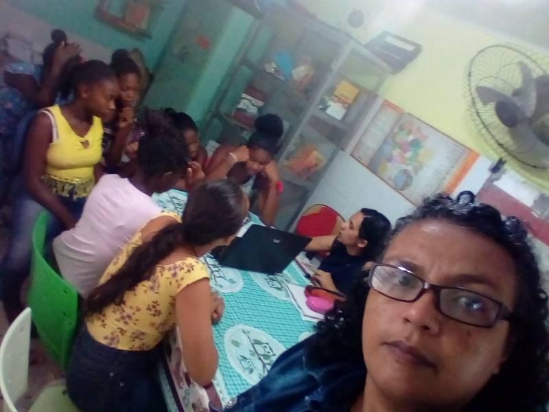 Atividade Ambiental. Escola de Municipal de Tijuaçu. Senhor do Bonfim-BA. 28/03/2019.