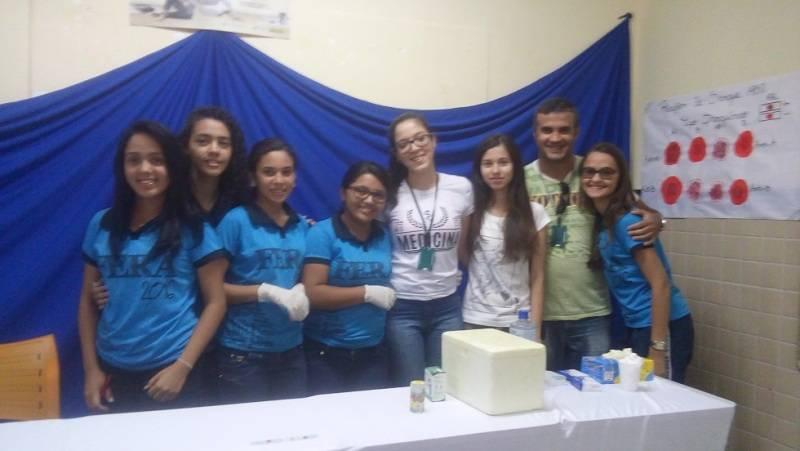PEV na conferência de Biologia - EREM Jornalista João Ferreira Gomes - Petrolina-PE - 24.09.15