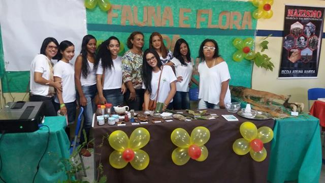 Evento ambiental. Escola Adelina Almeida. Petrolina-PE. 26-11-2016