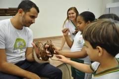 Escolas realizam visita técnica socioambiental