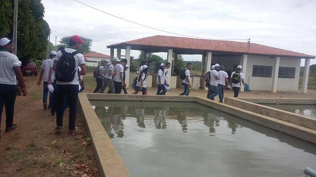 Visita Técnica à Codevasf. Centro Territorial de Educação Profissional (CETEP). Juazeiro-BA. 12-04-2016
