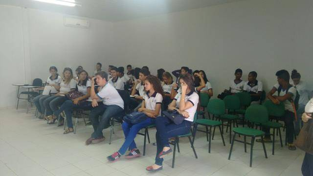 Visita Tecnica a Codevasf. Escola Joaquim Andre Cavalcanti. Petrolina-PE. 08-04-2016