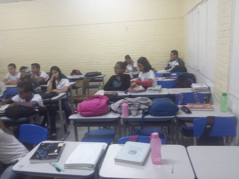 Atividade sobre arborização - Escola Estadual Otacílio Nunes de Souza - Petrolina-PE - 16.09.15