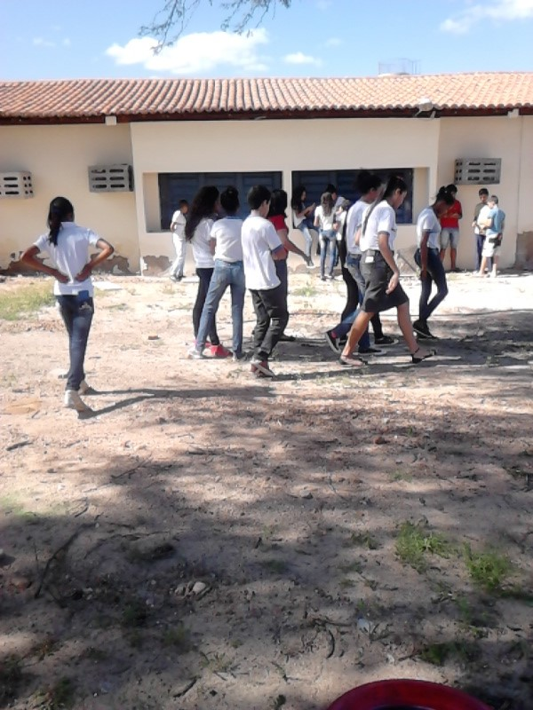 Atividade de hortas agroecologicas - Escola Gercino Coelho - Petrolina-PE -  24.02.16