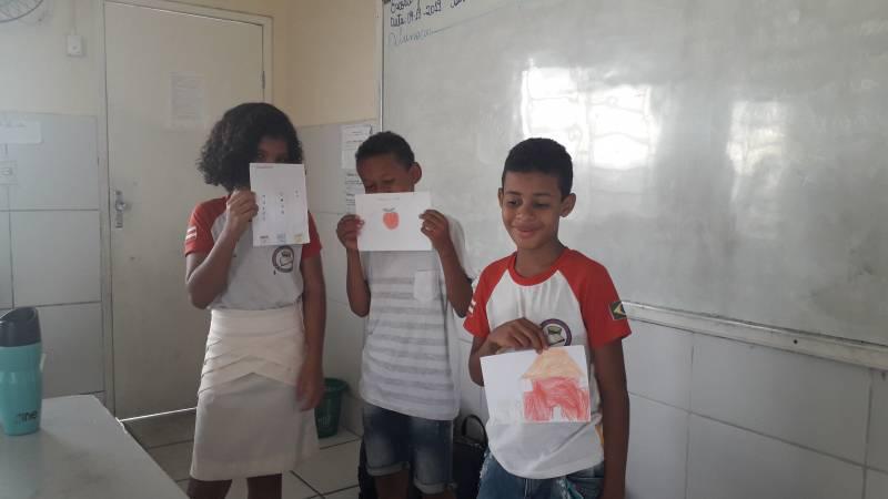 Atividade Compostagem.  Escola Joca de Souza Oliveira. Juazeiro-BA. 04/11/2019.