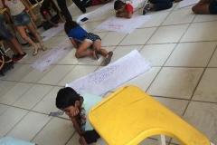 Estudantes desenvolvem atividades de Arte Ambiental