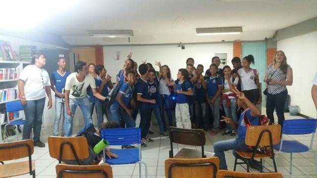 Saúde Ambiental - Combate ao Mosquito Aede aegypti. Escola Polivalente Américo Tanuri. Juazeiro-BA. 13-05-2016