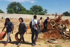 Estudantes e professores mobilizados para o combate ao Aedes aegypti