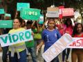 Passeata em Prol da Coleta Seletiva. Escola Rotary Club. Juzeiro-BA. 21/09/2017.