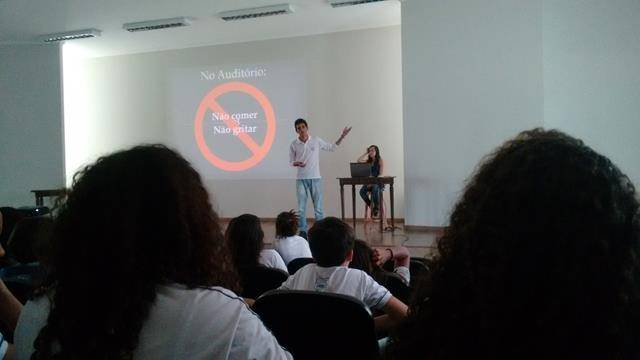 Visita Técnica do PEV. Escola Jutahy Magalhães. Juazeiro-BA. 11-10-2016