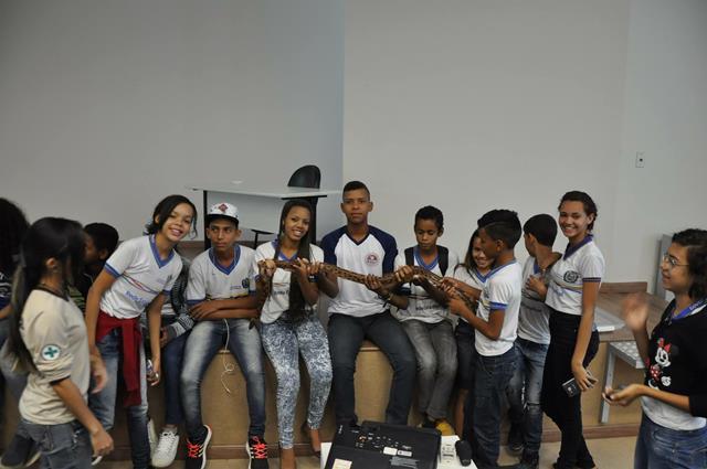 Visita Técnica. Escola Gercino Coelho. Petrolina-PE. 29-06-2016