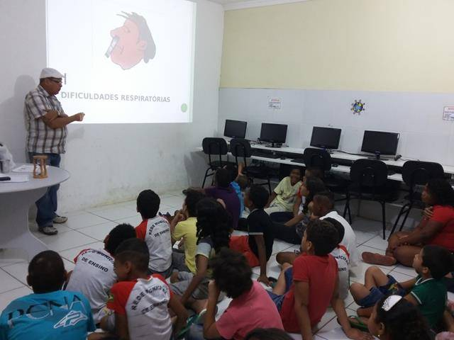 Cuidados e perigos dos Agrotóxicos. Escola Joca de Souza. Juazeiro-BA. 17-08-2016