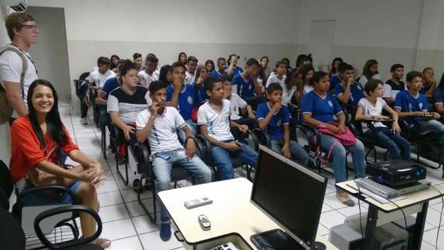 Visita Técnica a Chesf e barragens de Sobradinho-BA. Escola Antonilio de França Cardoso. Juazeiro-BA. 18-11-2016