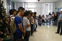 Estudantes e Professores visitam o maior lado artificial do mundo