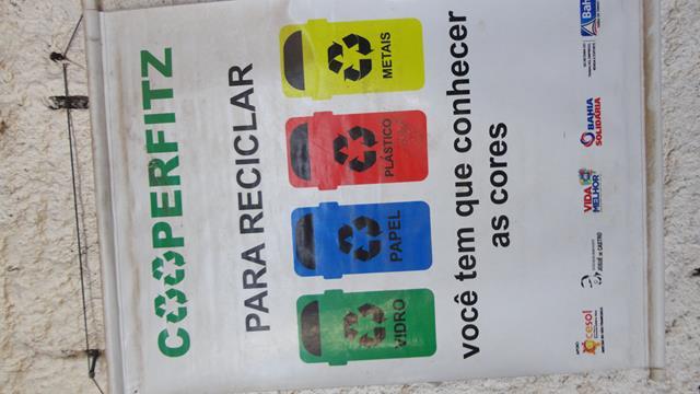 Visita técnica à Cooperativa de Catadores de Juazeiro (Cooperflitz). Centro de Educação Profissional do Sertão do São Francisco (CETEP). Juazeiro-BA. 27-10-2016