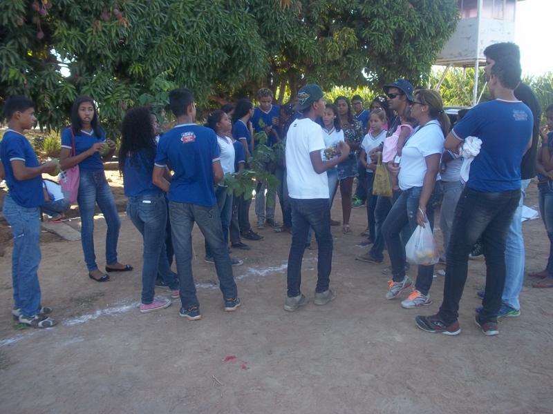 Visita técnica ao CCA (Univasf) e plantio de mudas na orla de Juazeiro-BA - Escola Pedro Raimundo Rodrigues Rêgo - Juazeiro-BA - 12.11.15