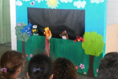 Fantoches sensibilizam crianças sobre problemas ambientais