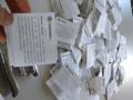 Frequentadores do RU recebem sementes de Mucuna