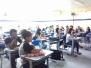 Gravidez precoce é discutida por estudantes de 9º ano