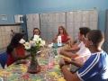 Grupo de 'Ambientalização' conversa com educadores da Escola Pacífico Rodrigues da Luz (EREM)