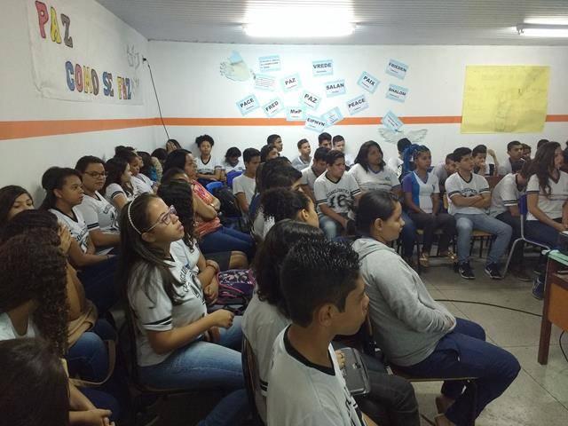 Meio Ambiente, poluição e higiene ambiental. Escola Moyses Barbosa. Petrolina-PE. 14-06-2016