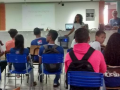 Atividades de Horta Escolar Agroecológica. Escola Polivalente Américo Tanuri. Juazeiro-BA. 27/07/2017.