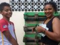 Atividades de Horta Escolar Agroecológica. Escola Luis Cursino. Juazeiro-BA. 20/07/2017.