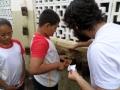 Horta Escolar impactou 50 crianças em duas escolas. Atividades foram no dia 16.05