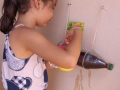 Atividade Horta Agorecológica. Escola Municipal Odulfo Domingues. Ibipitanga-BA.