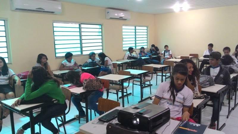 Atividade sobre horta sustentável - EMAAF Escola Marechal Antônio Alves Filho - Petrolina-PE - 08.10.15