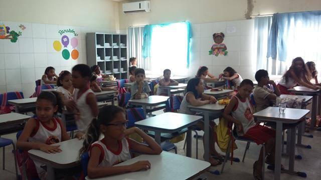 Horta Escolar Agroecológica. Escola Iracema Pereira da Paixão. Juazeiro-BA. 29-04-2016