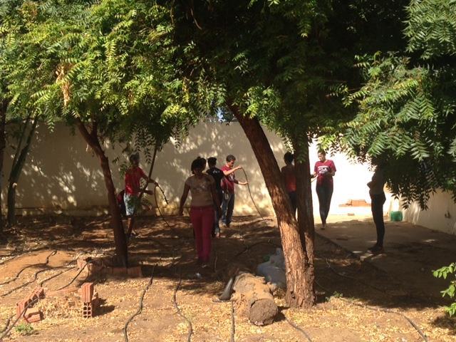 Horta Escolar Agroecológica. Escola Rui Barbosa. Juazeiro. 13-05-2016