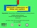 I WORKSHOP ALIMENTAÇÃO E ADOLESCÊNCIA: UM DIÁLOGO SOBRE EQUILÍBRIO