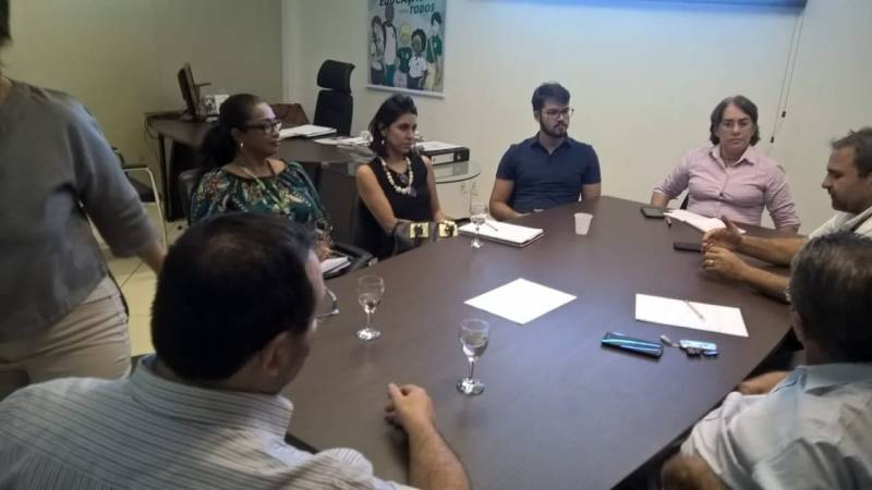 Reunião para institucionalização do PEV no IF-Sertão-PE. Petrolina-PE. 08/06/2018.