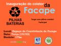 Atividade coleta seletiva. FACAPE. Petrolina-PE. 19/03/2019