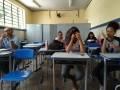 Atividade coleta seletiva. Escola Fernando Idalino Bezerra. Petrolina-PE. 01/03/2019.
