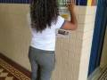 Atividade coleta seletiva. Escola Fernando Idalino Bezerra. Petrolina-PE. 08/03/2019.