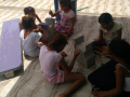 Intervenção de Arte Ambiental em ONG assistencial