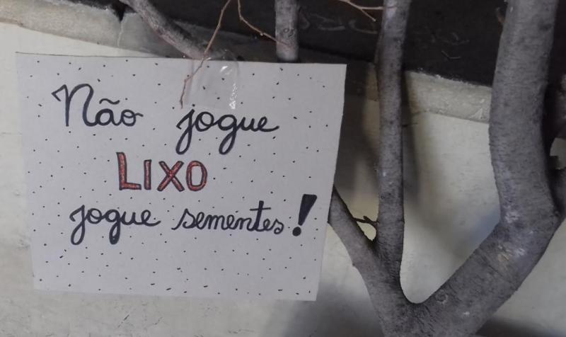 Intervenção de Arte Ambiental. Lagoa de Calú.Juazeiro-BA. 04/08/2017.
