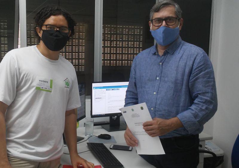 Doação de Máscaras. Petrolina-PE. Janeiro/Fevereiro de 2021.