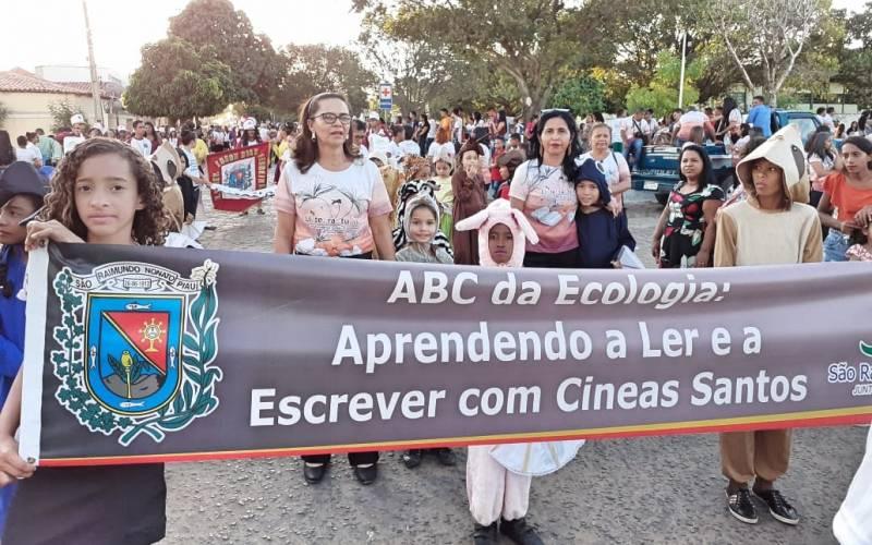 Atividade Mobilização Ambiental. São Raimundo Nonato-PI. 07/09/2019.
